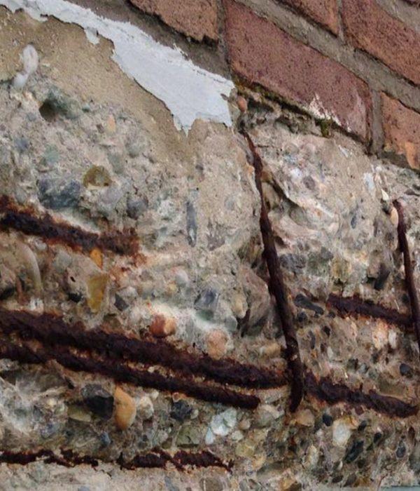 betonschade soorten